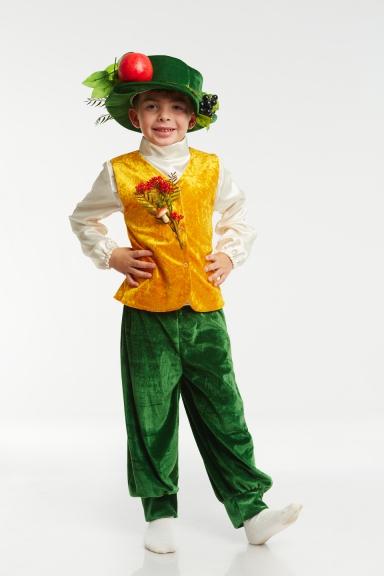 Костюм для осени для мальчика - Костюм осени фото. Наряд на праздник осени в детском саду