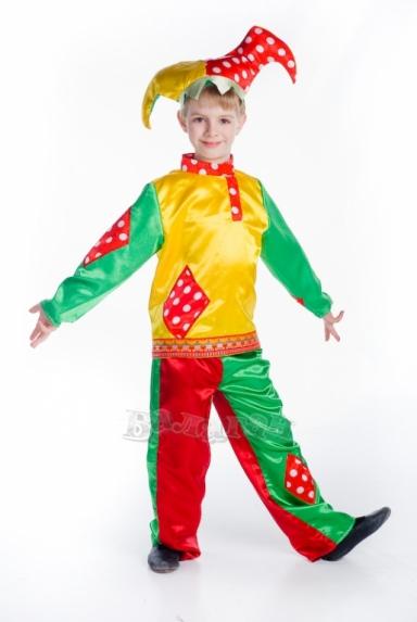 Новогодний костюм скомороха своими руками
