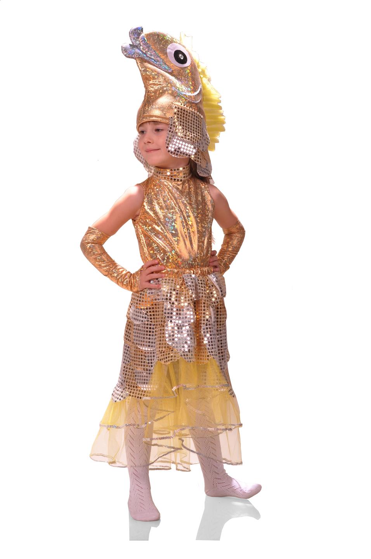 Новогодние костюмы золотой рыбки своими руками фото