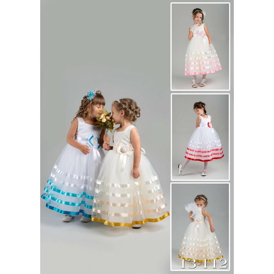 Как украсить корсет детского платья