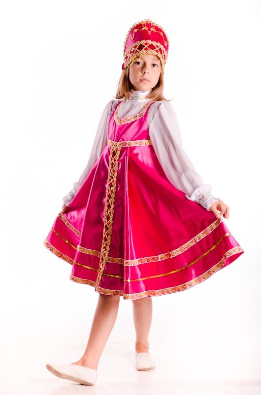 Костюм русской красавицы своими руками для девочек фото