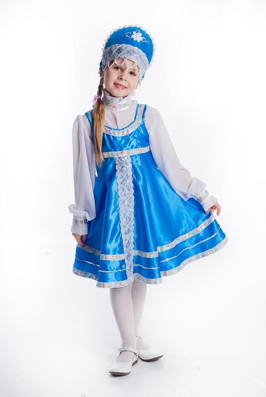 Костюм русской народной красавицы для девочки своими руками