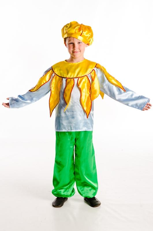 Как сделать костюм солнца для мальчика
