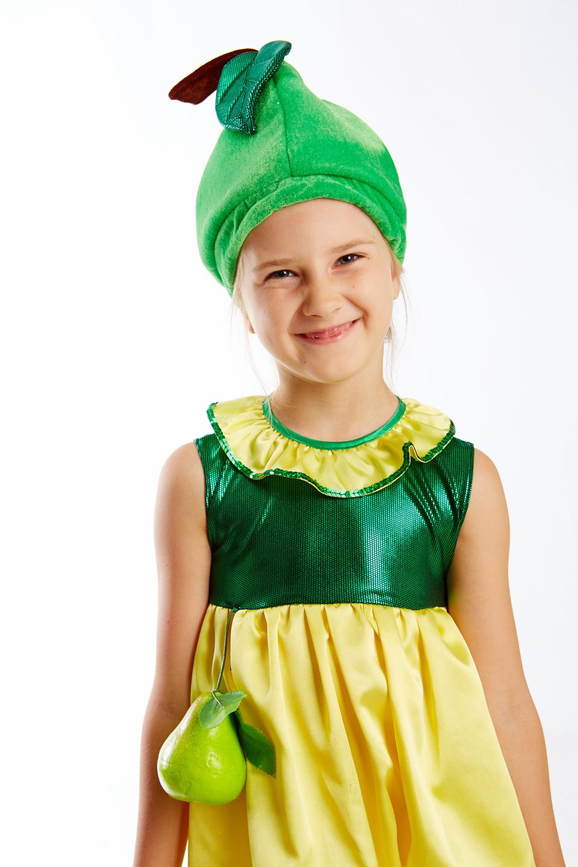 Выкройка костюма груши для девочки своими руками