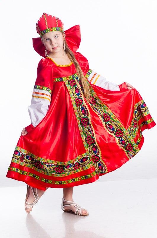 Русско-народные костюмы